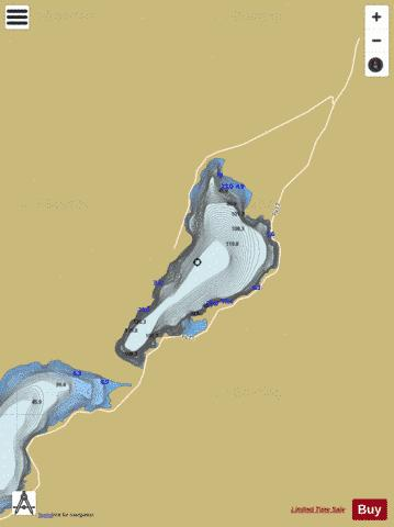 Grungstadvatnet Fishing Map - i-Boating App
