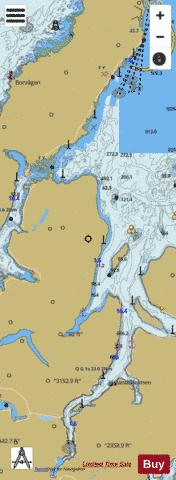 Godfjorden Marine Chart - Nautical Charts App