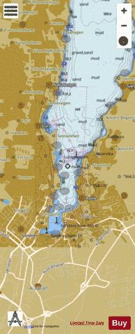 Sandnes Marine Chart - Nautical Charts App