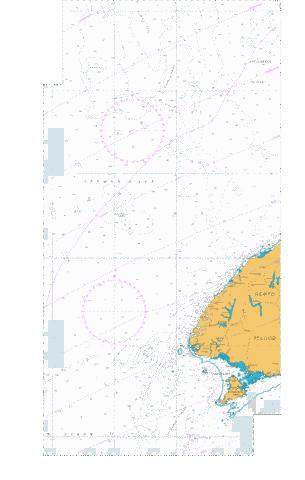 Western Approaches to South Island,NU Marine Chart - Nautical Charts App