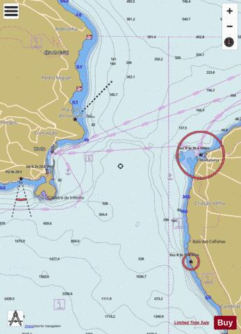 Canal Do Faial Marine Chart - Nautical Charts App