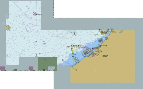 United Arab Emirates - Jumayran to Sir Abu Nu'ayr Marine Chart - Nautical Charts App