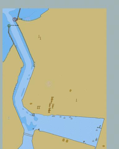 United Arab Emirates - Ras Al Khaimah (Ra's All Khaymah) - Rak Khor Port Marine Chart - Nautical Charts App