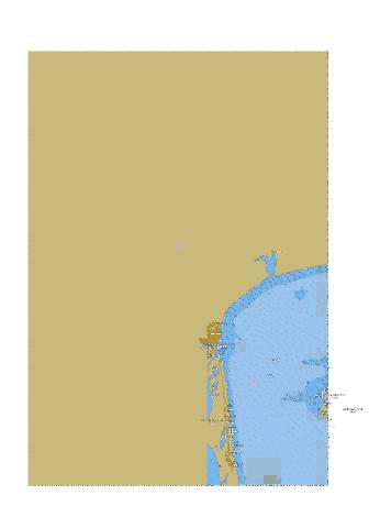 Approaches to Henichesk  Marine Chart - Nautical Charts App