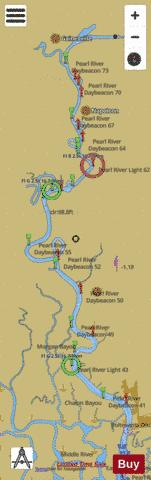 PEARL RIVER EXTENSION Marine Chart - Nautical Charts App