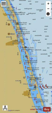 PALM SHORES TO WEST PALM BEACH  EXTENSION LL-MM Marine Chart - Nautical Charts App