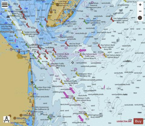 CAPE MAY TO FENWICK ISLAND Marine Chart - Nautical Charts App