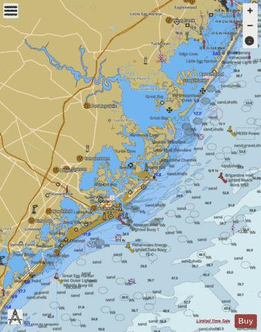 LITTLE EGG HARBOR TO CAPE MAY Marine Chart - Nautical Charts App