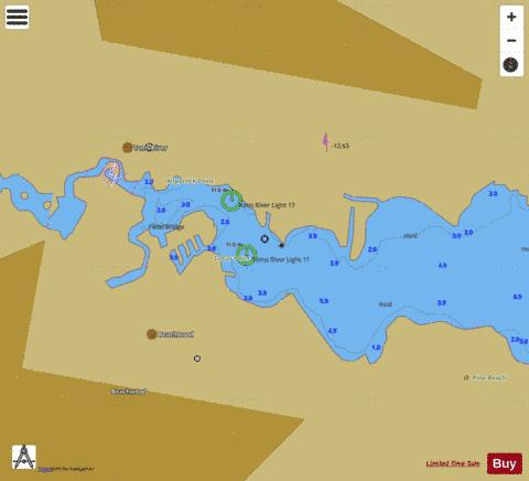 TOMS RIVER EXTENSION Marine Chart - Nautical Charts App