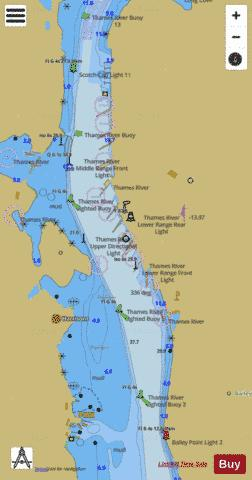 BAILEY POINT TO SMITH COVE Marine Chart - Nautical Charts App