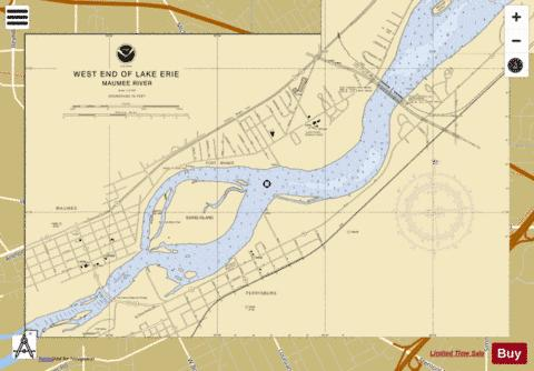 WEST END OF LAKE ERIE PAGE 2 Marine Chart - Nautical Charts App