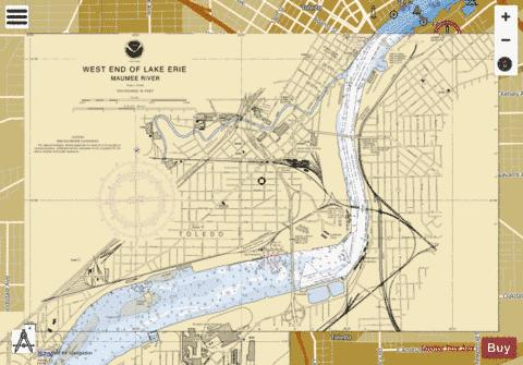 WEST END OF LAKE ERIE PAGE 4 Marine Chart - Nautical Charts App