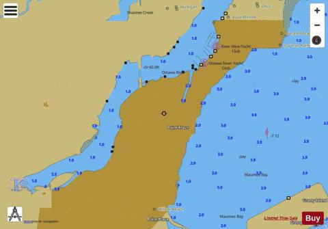 WEST END OF LAKE ERIE PAGE 8 Marine Chart - Nautical Charts App