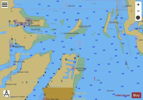 WEST END OF LAKE ERIE PAGE 9 Marine Chart - Nautical Charts App