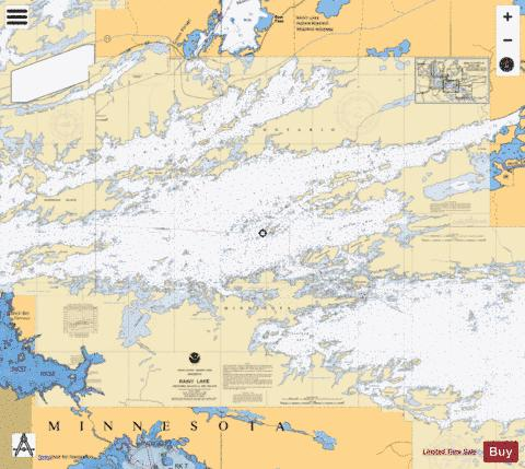 RAINY LAKE DRYWEED ISLAND TO BIG ISLAND MINN Marine Chart - Nautical Charts App