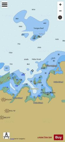 RYUS BAY Marine Chart - Nautical Charts App