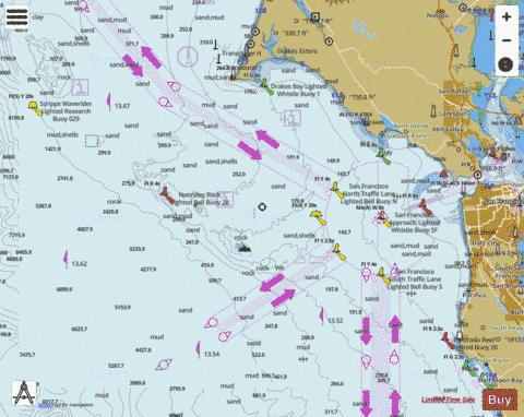 GULF OF THE FARALLONES Marine Chart - Nautical Charts App