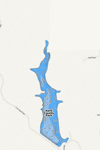 Kent County Park Fishing Map - i-Boating App