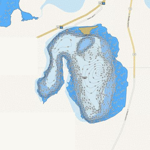 Sauer Fishing Map - i-Boating App