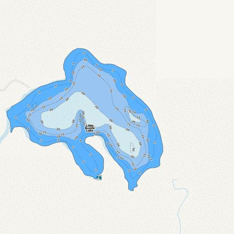 Little Buzzle Fishing Map - i-Boating App