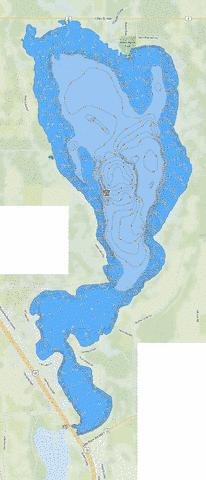 Little Rock Fishing Map - i-Boating App