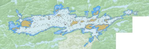 Brule Fishing Map - i-Boating App