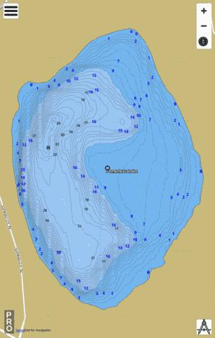Pomerleau Fishing Map - i-Boating App