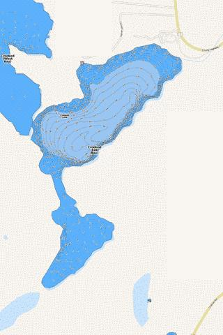 Crooked (East Bay) Fishing Map - i-Boating App
