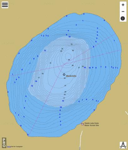 Steele Fishing Map - i-Boating App
