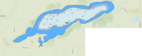 Sewell Fishing Map - i-Boating App