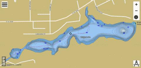 Wright Fishing Map - i-Boating App