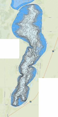 Amelia Fishing Map - i-Boating App