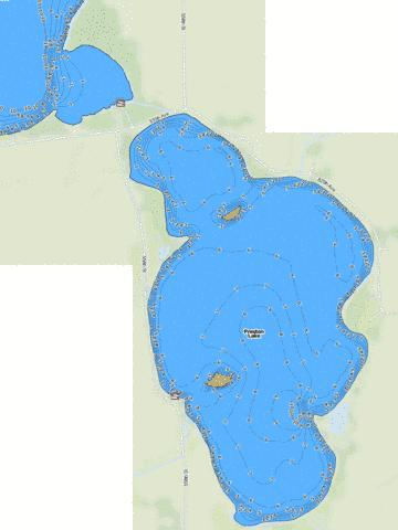 Preston Fishing Map - i-Boating App