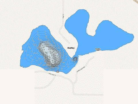 Dudley Fishing Map - i-Boating App