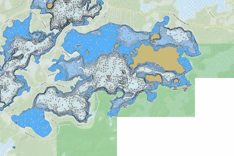 Eagles Nest #3 Fishing Map - i-Boating App
