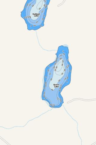 Quinn Fishing Map - i-Boating App