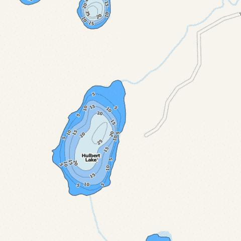 Hulbert Fishing Map - i-Boating App