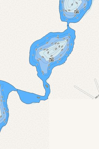 Mud Fishing Map - i-Boating App