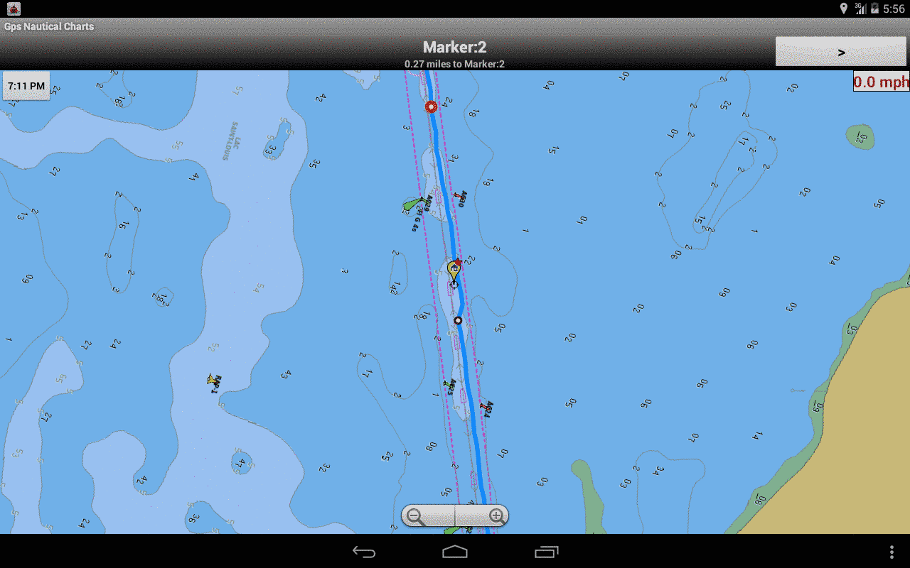 Blackberry Marine Navigation - Route Assistance
