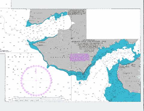 Marian Cove and Potter Cove Marine Chart - Nautical Charts App