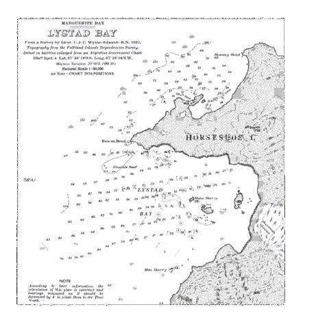 Lystad Bay Marine Chart - Nautical Charts App