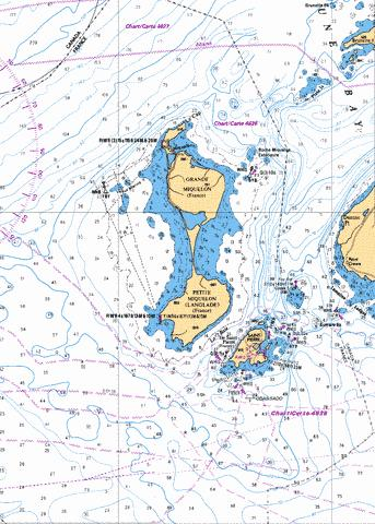 SAINTPIERRE ANDET MIQUELON FRANCE Marine Chart CA46261