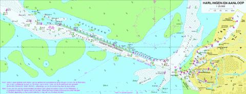 18115A - Aanloop Harlingen Marine Chart - Nautical Charts App