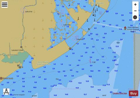 WEST END OF LAKE ERIE PAGE 23 Marine Chart - Nautical Charts App