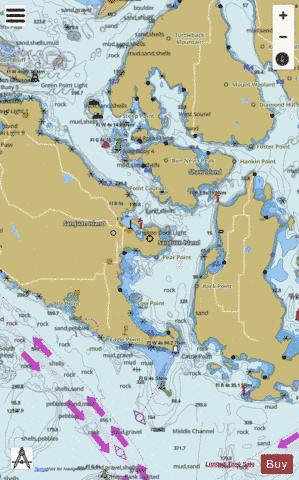 SAN JUAN CHANNEL Marine Chart - Nautical Charts App