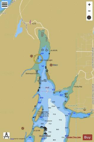 CASE INLET EXTENSION Marine Chart - Nautical Charts App