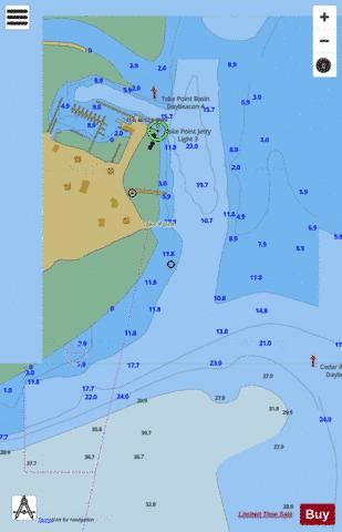 TOKE POINT Marine Chart - Nautical Charts App