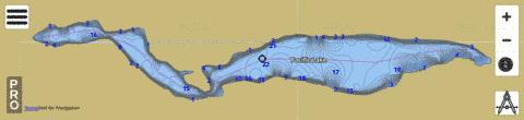 Pacific Lake,  Lincoln County Fishing Map - i-Boating App