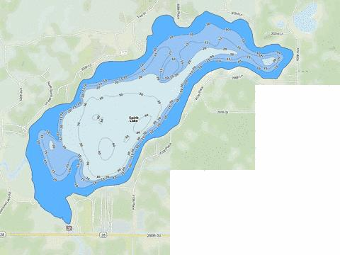 Spirit Fishing Map - i-Boating App
