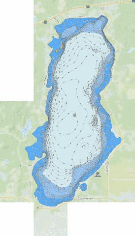 Toad Fishing Map - i-Boating App